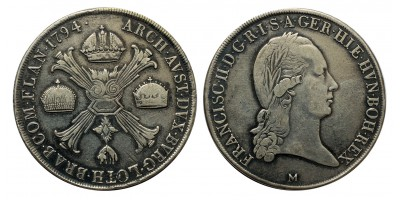 I.Ferenc koronatallér 1794 M