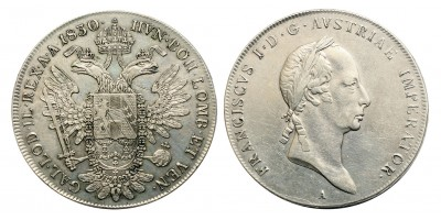 I. Ferenc tallér 1830 A