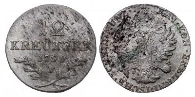 I.Ferenc 12 krajcár 1795 F