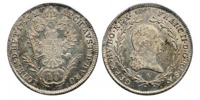 I.Ferenc 10 krajcár 1793 A