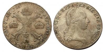 I.Ferenc koronatallér 1796 C