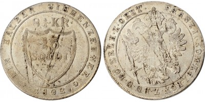 15 Soldi(8-1/2) Kreuzer 1802 A