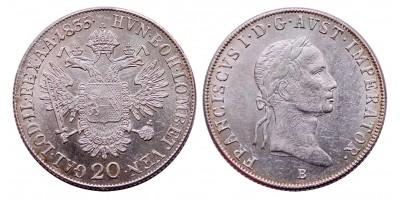 I.Ferenc 20 krajcár 1835 B