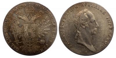 I.Ferenc tallér 1830 E R
