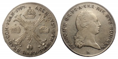 I.Ferenc koronatallér 1797 E