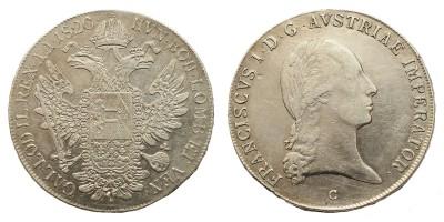 I. Ferenc tallér 1820 C