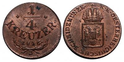 1/4 krajcár 1816 B