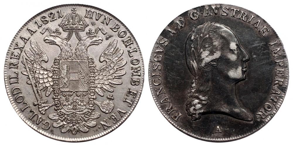 I.Ferenc Tallér 1821 A