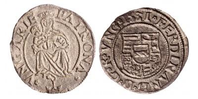 I. Ferdinánd denár 1531 horgony RRR!