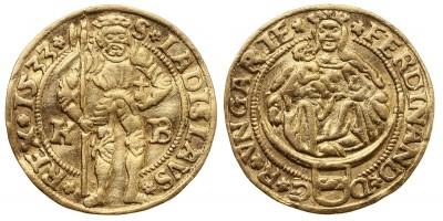 I. Ferdinánd aranyforint 1533 KB