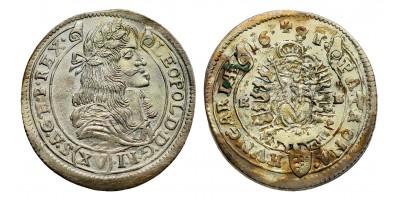 I.Lipót 15 krajcár 1681 KB