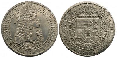 I. Lipót tallér 1699