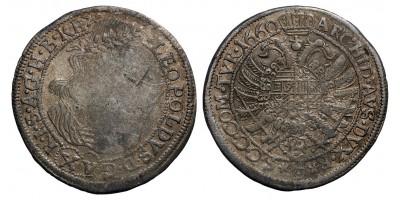I.lipót XV krajcár 1660 Bécs