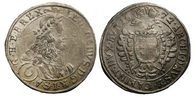 I.Lipót VI krajcár 1672 St Veit