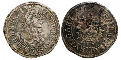 Lipót I. 3 krajcár 1663 KB