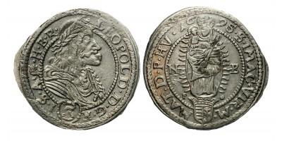 I.Lipót 3 krajcár 1695 NB