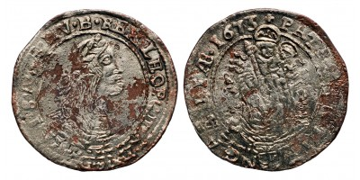 I.Lipót VI krajcár 1673 KB.