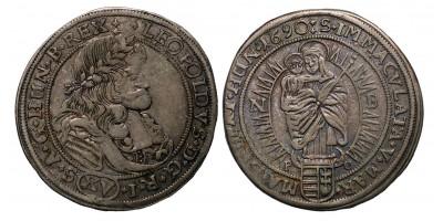 I.Lipót XV krajcár 1690 NB.