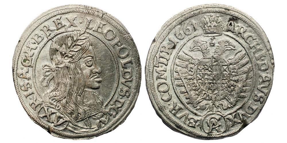 I.Lipót XV krajcár 1661 C-A