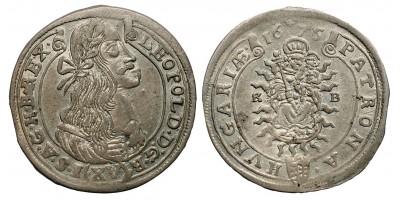 I.Lipót XV krajcár 1675 KB