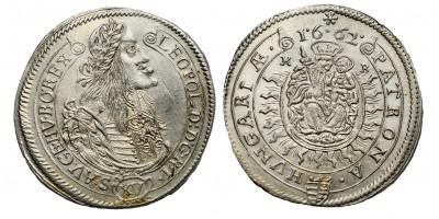 I.Lipót XV krajcár 1662 KB