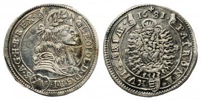 I.Lipót XV  krajcár 1681