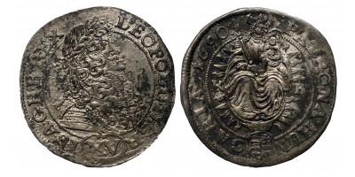 I.Lipót XV krajcár 1690