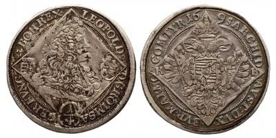 I. Lipót 1/4 tallér 1695 KB