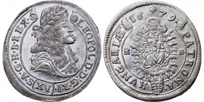 I.Lipót XV krajcár 1679 KB
