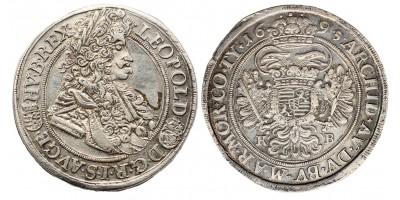 I.Lipót 1/2 tallér 1695 KB.