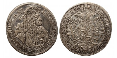 I.Lipót tallér 1690 KB.