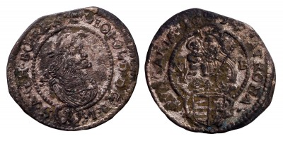 I.Lipót denár 1699 N-B R!