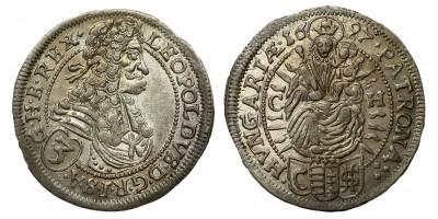 I.Lipót 3 krajcár 1697 CH