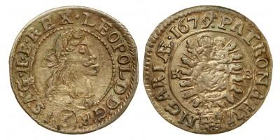 I.Lipót 3 krajcár 1679 KB