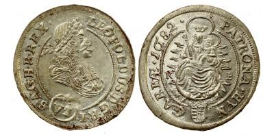 I.Lipót VI krajcár 1682 KB