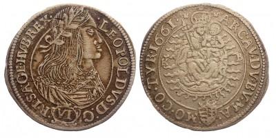 I.Lipót VI krajcár 1661 KB R!