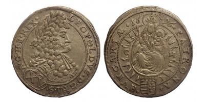I.Lipót XV krajcár 1696 C-H