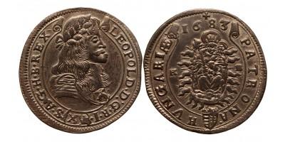 I.Lipót XV krajcár 1683 KB