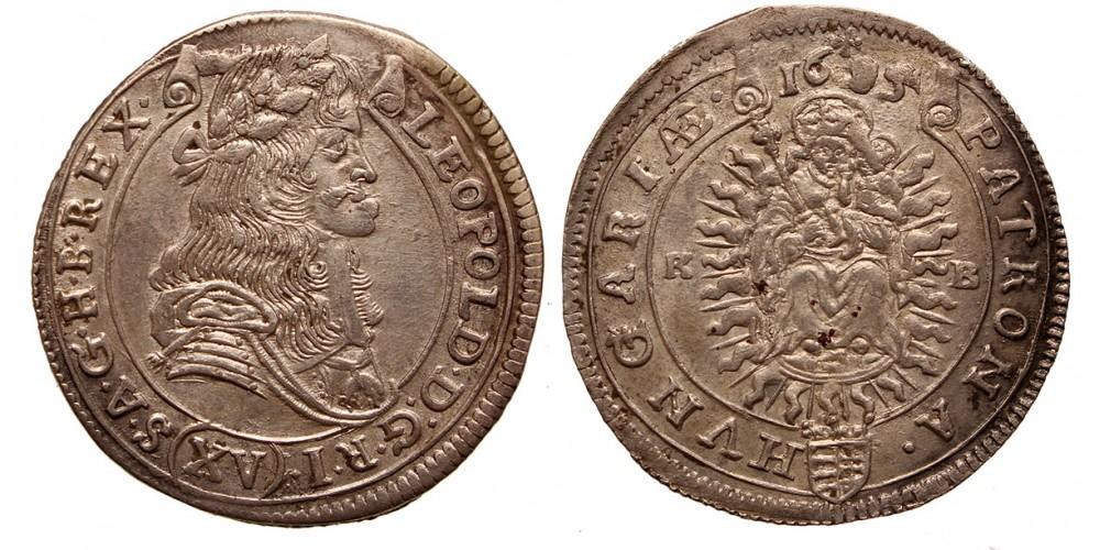 I.Lipót XV krajcár 1685 KB