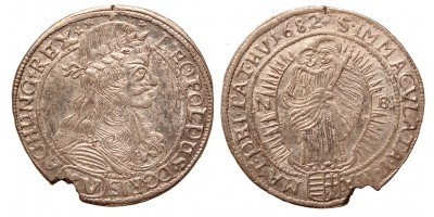 I.Lipót XV krajcár 1682 NB.