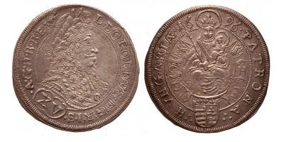 I.Lipót XV krajcár 1696 C-H Pozsony