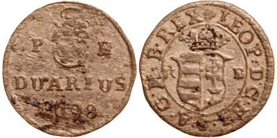 I.Lipót duarius 1698