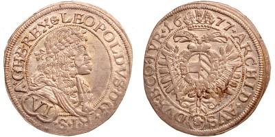 I.Lipót VI krajcár 1677 Bécs