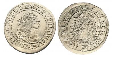 I.Lipót 6 krajcár 1669