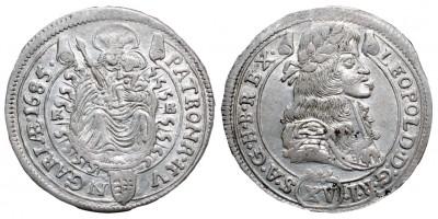I.Lipót 15 krajcár 1685