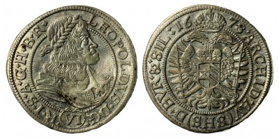 I.Lipót 6 krajcár 1678