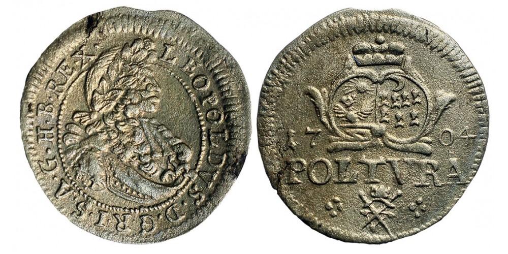 I.Lipót poltura 1704 Erdély Nagyszeben R