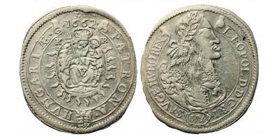 I. Lipót XV krajcár 1662 KB