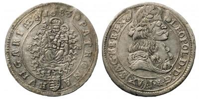 I. Lipót XV krajcár 1683 KB