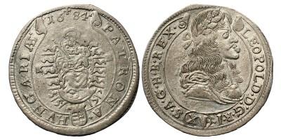 I. Lipót XV krajcár 1684 KB